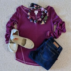 Mossimo Magenta Lightweight Thermal, Size - XS
